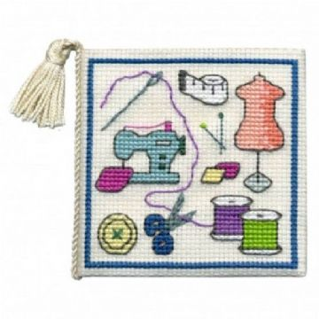 Sewing  Needle Case Cross Stitch Kit